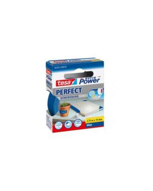 Nastro adesivo telato 19mmx2,7mt blu 56341 xp perfect 56341-0002903_37926 by Tesa