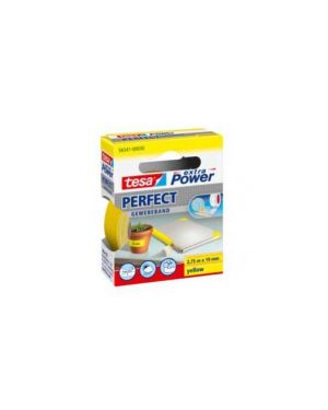 Nastro adesivo telato 19mmx2,7mt giallo 56341 xp perfect 56341-00030-03_37927 by Tesa