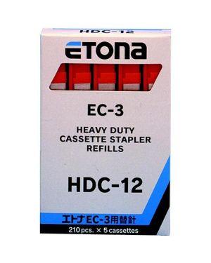 5 caricatori da 210 punti hdc-12 x etona ec-3 034D124702 4580107120093 034D124702_40402