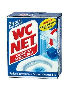 Wc net cassetta blu water x 2 M74389_45016 by Esselte