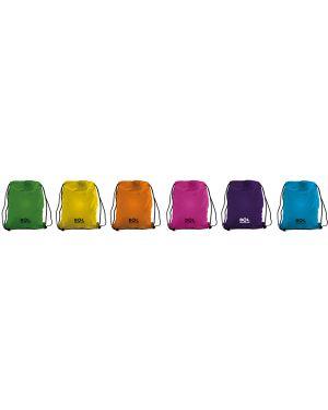 Sacchetto t-bag in nylon 38x50cm colori assortiti 698500.D 8004428021779 698500.D by Ri.plast