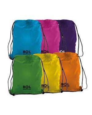 Sacchetto t-bag in nylon 38x50cm colori assortiti 698500.D 8004428021779 698500.D