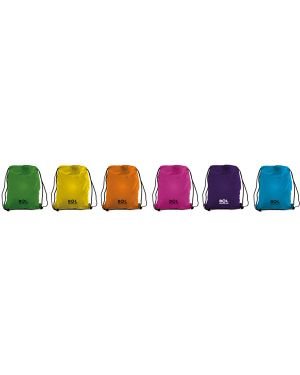 Sacchetto t-bag in nylon 38x50cm colori assortiti 698500.D 8004428021779 698500.D