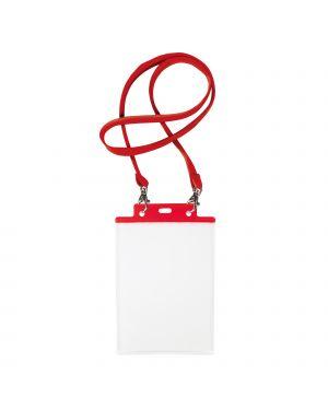10 portanome pass 7st-m 15x21cm (a5) rosso con cordoncino rosso 31842912 8004972025445 31842912-1