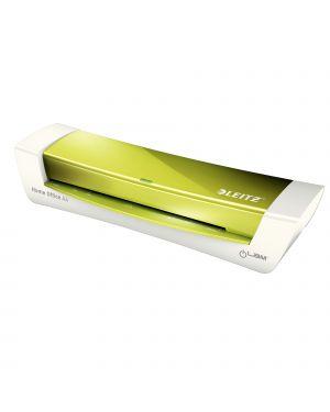 Plastificatrice ilam homeoffice a4 verde metal leitz 73680054 4002432123971 73680054