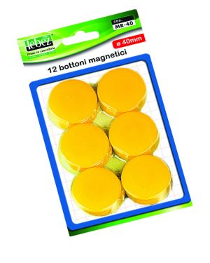 Blister 12 magneti mr-40 verde diam.40mm MR-40-V 8007509002599 MR-40-V_45533 by Lebez