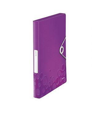 Portaprogetti wow d.3 con elastico viola metallizzato LEITZ 46290162 4002432105960 46290162