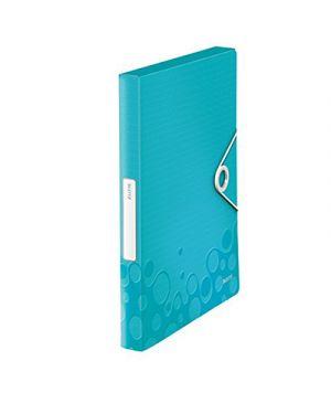 Portaprogetti wow d.3 con elastico acqua marina metallizzato LEITZ 46290151 4002432105953 46290151