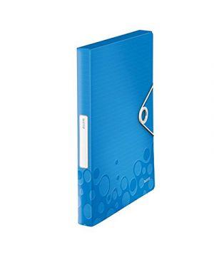 Portaprogetti wow d.3 con elastico blu metallizzato LEITZ 46290136 4002432105939 46290136