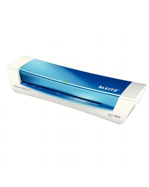 Plastificatrice ilam homeoffice a4 blu metal leitz 73680036 4002432112944 73680036-1