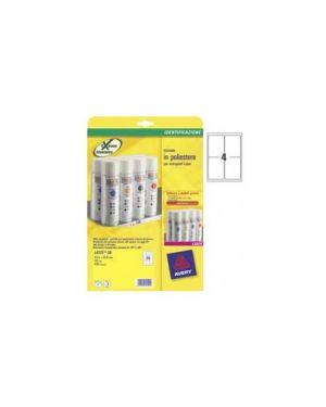 Etichette l4774-20fg in poliestere bianco 99,1x139mm laser L4774-20_47692 by Avery
