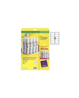 Etichette in poliestere bianco 99,1x42,3mm 12et/fg laser l4776-20fg avery L4776-20_47694 by Avery