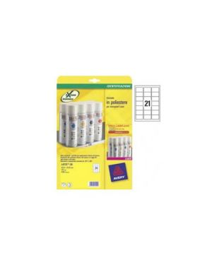 Etichette l7060-20fg in poliestere bianco 63,5x38,1mm laser L7060-20_47696 by Avery