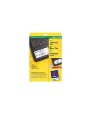 Etichette l6012-20fg in poliestere argento 96x50,8mm (10et/fg) laser L6012-20_47699