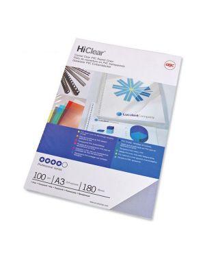 Scatola 100 copertine hi-clear 180micron a3 neutro trasparente gbc CF121880 8019152802976 CF121880