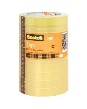 Torre 10 rt nastro adesivo scotch® 508 15mmx66m in ppl 7100213177 4001895914201 7100213177
