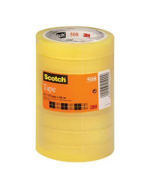 Torre 8 rt nastro adesivo scotch® 508 19mmx66m in ppl 7100213204 4001895919909 7100213204