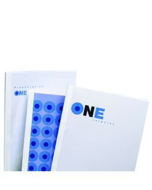 100 cartelline termiche 12mm bianco optimal TC081270 5019577194987 TC081270