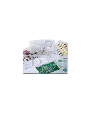 Scatola 100 pouches 2x125mic 60x90mm business card gbc 3743157 33816033092 3743157
