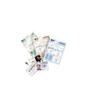 Scatola 100 pouches 2x125mic 64x108mm lugagge card c - asola lato corto gbc 3740433 33816030770 3740433
