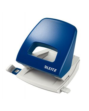 Perforatore 2 fori metal rim 5005 max 25fg blu leitz 50050335 4002432354504 50050335