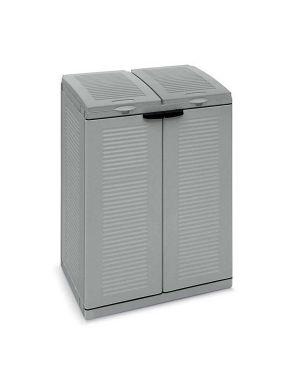 Contenitore ecoline 2 grigio 2x110lt terry 1003055 8005646030550 1003055