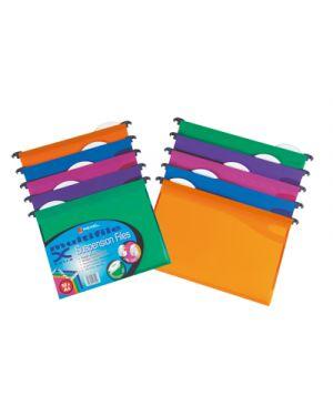 10 cartelle sospese cassetto 33 - v mfx in ppl colori assort 2101564 5028252179096 2101564_49472 by Rexel