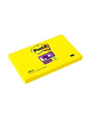 Blocco 90foglietti post-it® super sticky 655-s 76x127mm giallo oro 7100103158 4001895877117 7100103158