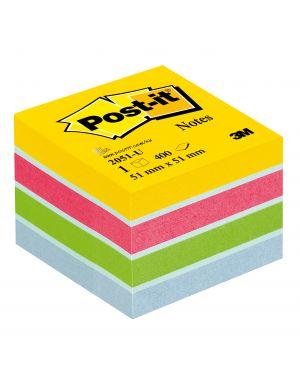Blocco minicubo 400foglietti post-it® 51x51mm 2051-u ultra 7100172396 4046719532650 7100172396