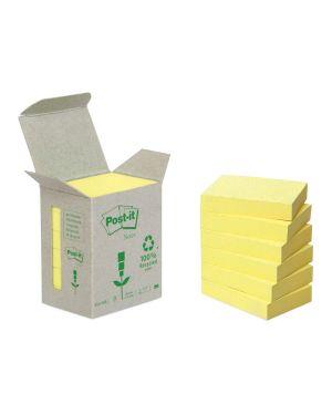 Blocco 100foglietti post-it® notes green 38x51mm 653-1b giallo 7100172254 64220/A 7100172254