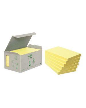 Blocco 100foglietti post-it® notes green 76x127mm 655-1b giallo 7100172257 64222 A 7100172257