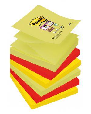 Blocco 90foglietti post-it® super sticky z-notes 76x76mm r330-6ss-marrakesh 7010412481 71240 A 7010412481