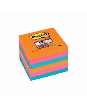 Blocco 90foglietti post-it® super sticky 76x76mm 654-6ss-eg bangkok 7010416432 71242 A 7010416432