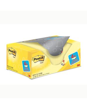 Value pack 16+4 blocco 100fg post-it® giallo canary™ 38x51mm 72gr 653cy-vp20 7100172332 4046719906406 7100172332