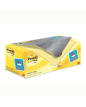 Value pack 16+4 blocco 100fg post-it® giallo canary™ 76x76mm 72gr 654cy-vp20 7100172333 4046719906437 7100172333