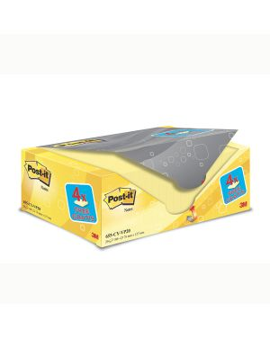 Value pack 16+4 blocco 100fg post-it® giallo canary™ 76x127mm 72gr 655cy-vp20 7100172334 4046719906444 7100172334