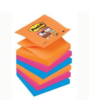 Blocco 90foglietti post-it® super sticky z-notes 76x76mm r330-6ss-eg bangkok 7010416875 74012 A 7010416875