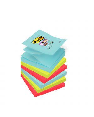 Blocco 90foglietti post-it® super sticky z-notes 76x76mm r330-6ss-mia miami 7010416537 80056 A 7010416537