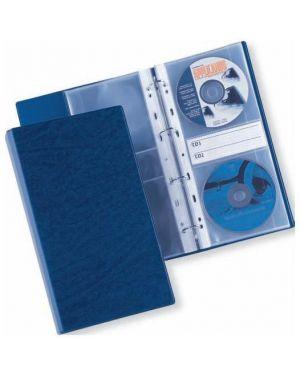 Raccoglitore 4 anelli disco 40 blu 14.5x30cm sei rota 33100107 8004972016092 33100107_50363