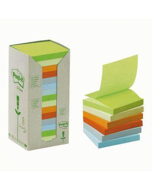 Blocco 100foglietti post-it® z-notes green 76x76mm r330-1rpt natural 100 7100172327 57680 A 7100172327