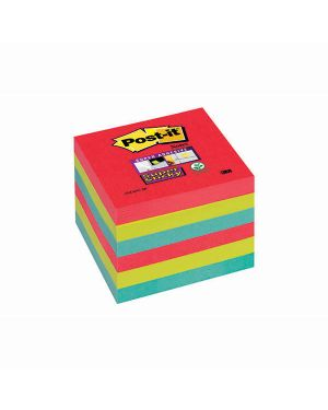 Blocco 90foglietti post-it® super sticky 76x76mm 654-6ss-jp bora bora 7010416433 71245 A 7010416433