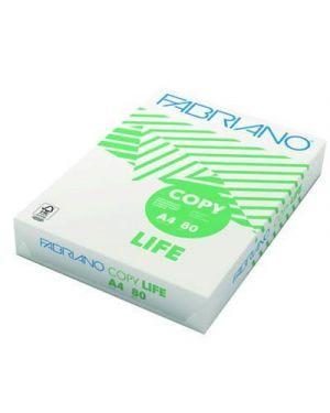 Carta fotocopie fabriano copy life a4 gr.80 fg.500 FABRIANO 48521297 8001348103424 48521297_50546 by Fabriano