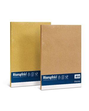 Carta risma field riciclata a4 90gr 100fg nocciola A68Y104 8007057641110 A68Y104_50605 by Favini