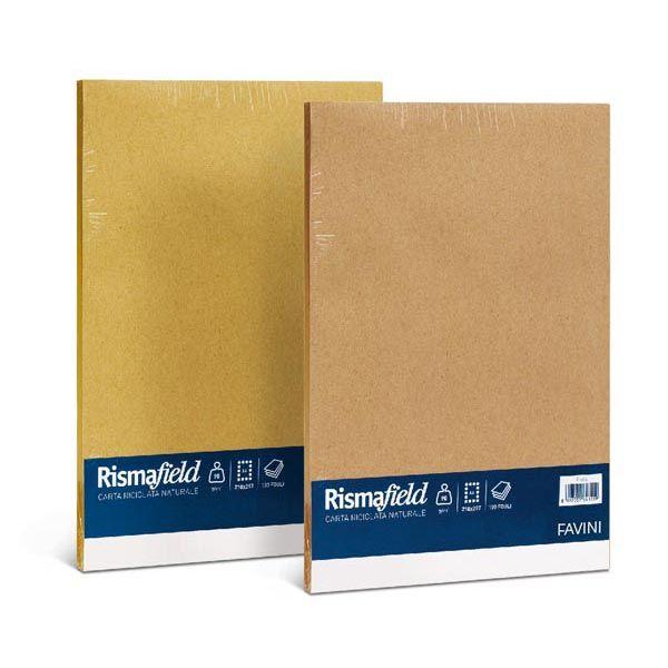 Carta risma field riciclata a4 90gr 100fg giallo A68X104 8007057641219 A68X104_50606 by Favini
