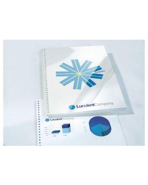 Scatola 100 copertine hi clear 200micron a4 neutro trasparente gbc CE012080E_50789