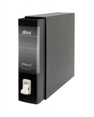 Registratore new dox 1 nero dorso 8cm f.to commerciale rexel D26110 8004389087029 D26110_51236