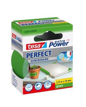Nastro adesivo telato 38mmx2,7mt verde 56343 xp perfect 56343-0003903_51407