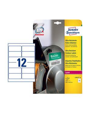 Etichette bianche in polietilene 99,1 x 42,3mm, laser, 10fg avery L7913-10 4004182068069 L7913-10