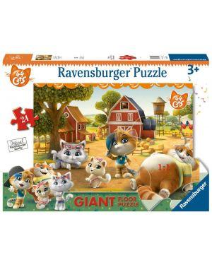 24 pav- puzzle 44 gatti Ravensburger 3015C 4005556030156 3015C by No