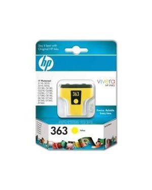 Hp 363 yellow ink cartridge bl HP Inc C8773EE#301 884962559406 C8773EE#301